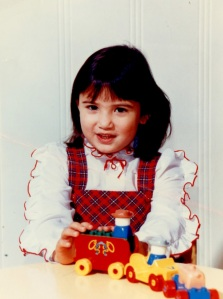 Melissa Oei as a wee one!